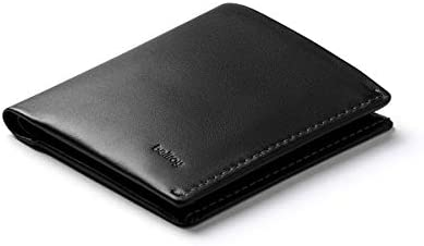 Bellroy Note Sleeve Wallet (Slim Leather Bifold Design, RFID Blocking, Holds 4-11 Cards, Coin Pouch, Flat Note Section)
