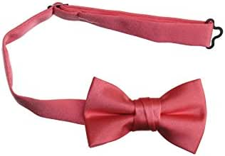 Pre Tied Bow Tie with Adjustable Neck Strap (Boys and Mens Size Options)