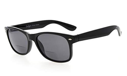 Eyekepper Classic Bifocal Sunglasses Grey Lens +2.5 (Bargain Sunglasses)