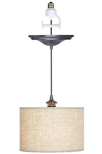 Emile Pendant Light, CONVERSION KIT, BRUSHED BRONZE