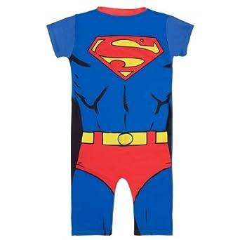 Traje de Sol para niños con diseño de Superman para Proteger ...