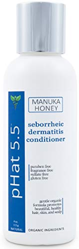Seborrheic Dermatitis Hair Deep Conditioning Treatment with Manuka Honey, Coconut Oil and Aloe Vera - Dry & Itchy Scalp Treatment - Paraben Free and Sulfate - Gentle & Safe for Sensitive Skin (4 oz) (Best Cream For Itchy Scalp)