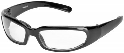 River Road Chicago Sunglasses - One size fits most/Black w/ Clear