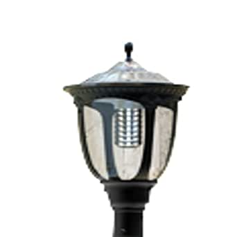 Solar European Style LED Street Light - 2000Lm Solar Landscape Lamp Post Light - 6000K