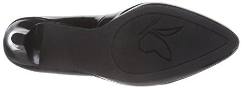 Caprice 22412 - zapatos de tacón cerrados de cuero mujer negro - Schwarz (BLACK PATENT 018)