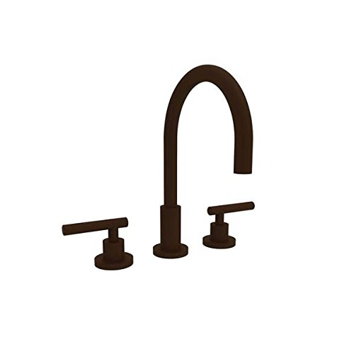 [Newport Brass 990L/ORB East Linear Double Handle Widespread Lavatory Faucet with Metal Lever Handles (L, Hand Relieved Oil Rubbed Bronze] (Bronze 990 Double Handle)