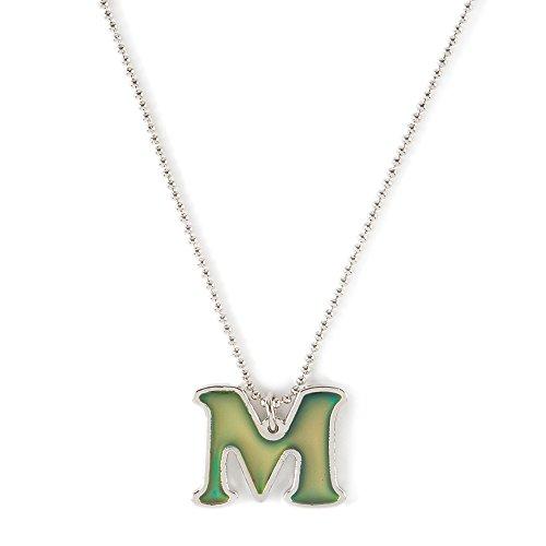 Mood Initial M Pendant Necklace