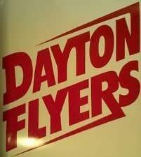 Dayton Flyers Wood Cornhole Wraps