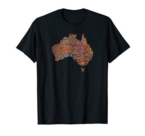 (Aboriginal Flag T Shirt Australia Souvenir Shirt)