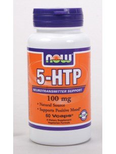 Now Foods 5-HTP 100 mg - 60 Vcaps 12 Pack by NOW