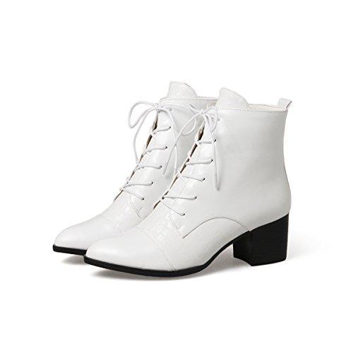 Up Chunky Lace Women's Bootie White DecoStain Eq18w8