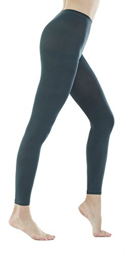 Womens Denier Footless Tights Pantyhose