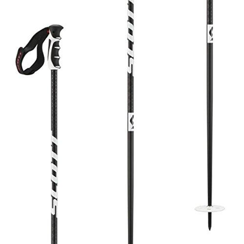 (Scott Team Issue Ski Poles (Black, 46 in))