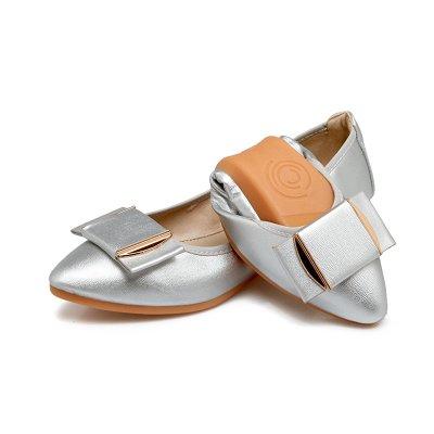 Otoño Zapatos Zapatos De GAOLIM Que Embarazadas De Mujer Mujeres De Granos Plano Zapatos Punta Mujer Solo De Zapatos De Las Soja De Fondo El En Zapatos Es Luz Grandes Silver Astilleros Zapatos BHqZxHwER