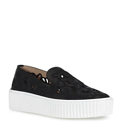 Pinko Slip On Sneakers Donna 1H209NY396Z99 Pelle Nero