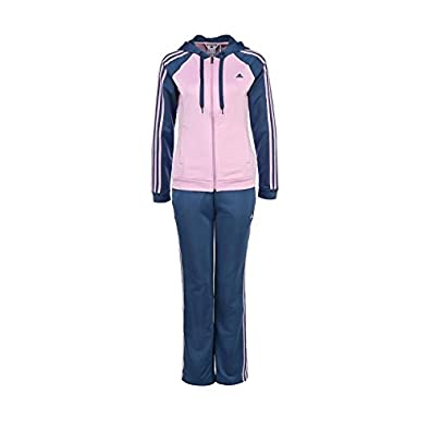 adidas Young Knit Suit - Chándal para mujer, color azul/rosa ...