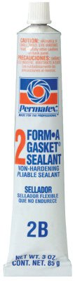 Permatex 80016-12PK Form-A-Gasket #2 Sealant, 3 oz. (Pack of 12) by Permatex