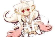 Nekomimi Mahou Shoujo Madoka Magica Anime Anime Boys albinos ...