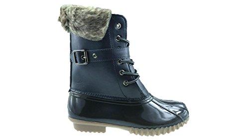 Mc Footwear Damen Arbeitsgummistiefel Navy