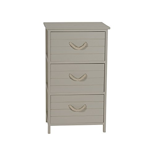 Household Essentials ml-5432 3 Drawer Chest by Household Essentials