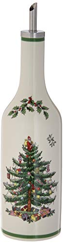 Spode Christmas Tree Oil and Vinegar Drizzle Set
