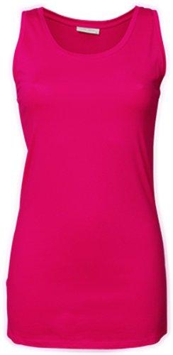 TJ456 Tee Jays Damen Stretch Top extra lang S,Hot Pink