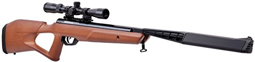 - Crosman BTN2Q2WX Trail SBD Air Rifle, Wood, 0.22 Caliber