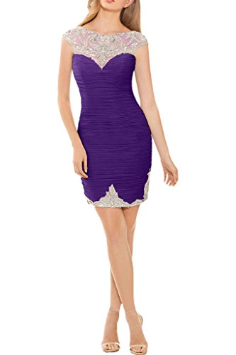 Promgirl House - Robe - Crayon - Femme -  violet - 2 mois