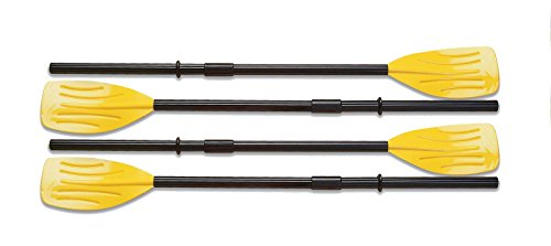 astic Ribbed French Oars Set for Inflatable Boat (2 Pairs) ()