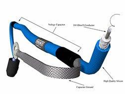 nology 011426126 azul hotwires Bujía Cables