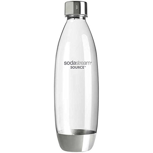 Sodastream 1100945010 1L METAL SOURCE Carbonating Bottle ...