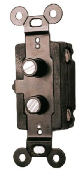 Light Reproduction (Classic Accents Four Way Antique Reproduction Push Button Light Switch)