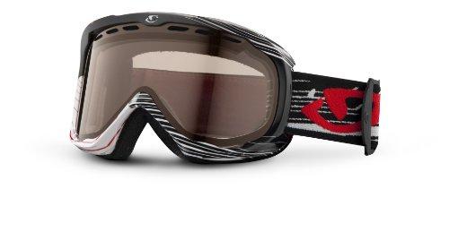 Giro Focus Goggle (Black Boneyard, Amber Rose 40), Outdoor Stuffs