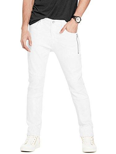G by GUESS Men's tantalus Knitdigo Skinny Jeans