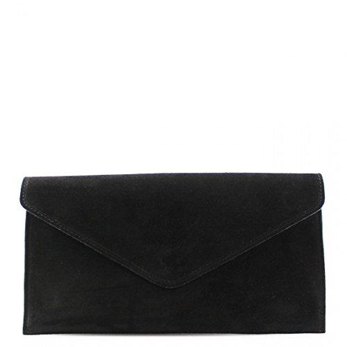 Leather Real Black Prom Shoulder Chain Linen Suede Women Galaxy Fancy Bags Party Women Purses Strap Clutch HqBBwI