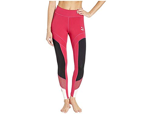 Puma Stretch Leggings - PUMA Women's Flourish XTG Leggings Cerise/Puma Black Large 27