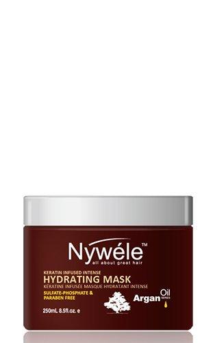 Nywele Keratin Infused Intense Hydrating Mask 8.5oz - SULFATE, ALCOHOL, PHOSPHATE & PARABEN FREE