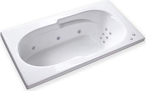 Carver Tubs - AR7136 WH - 12 Jets w/Heater - - 36 Inch Drop Jetted In