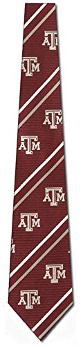 Texas A&M Cambridge Woven Silk Necktie