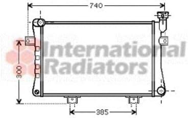 Van Wezel 26002015 Radiateur