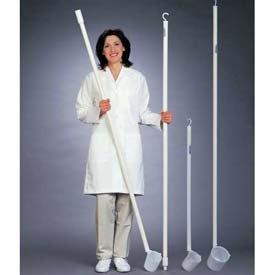 Bel-Art Long-Handled Dipper 367800016, 16oz. Dipper, 3 ft. 1-Piece Handle, White, 1/PK - Pkg Qty 12