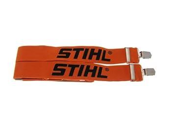 130 cm Orange Stihl 0000 884 1512 Hosentr/äger mit Metallschnallen