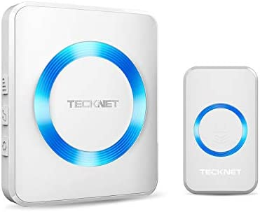 Wireless Doorbell TeckNet Cordless Batteries product image