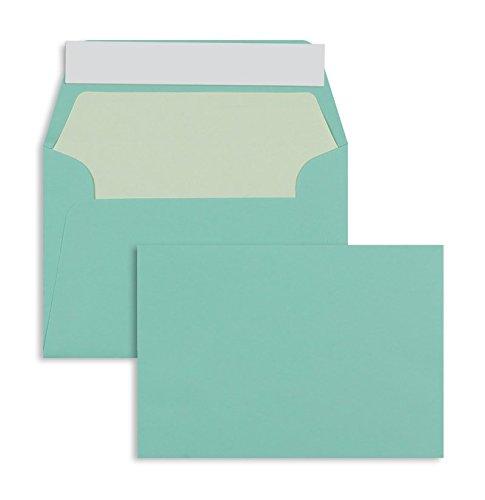 Farbige Briefhüllen   Premium   125 x 176 mm (DIN B6) Blau (100 Stück) mit Abziehstreifen   Briefhüllen, KuGrüns, CouGrüns, Umschläge mit 2 Jahren Zufriedenheitsgarantie B00H53TIO4 | Lassen Sie unsere Produkte in die Welt gehen