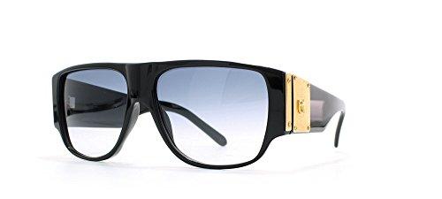 Emmanuelle Khanh Black and Gold Authentic Men - Women Vintage Sunglasses (Emmanuelle Khanh)