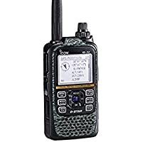 Icom ID-51A Plus2 VHF/UHF Portable Digital D-STAR Transceiver - 5.5W Max - Digicamo Gray