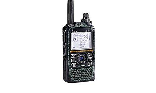 Icom ID-51A Plus2 VHF/UHF Portable Digital D-STAR Transceiver - 5.5W Max - Digicamo Gray