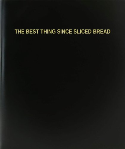BookFactory The Best Thing Since Sliced Bread Log Book / Journal / Logbook - 120 Page, 8.5