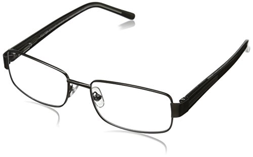 Foster Grant Wes Men's Multifocus Glasses, Gunmetal, 2