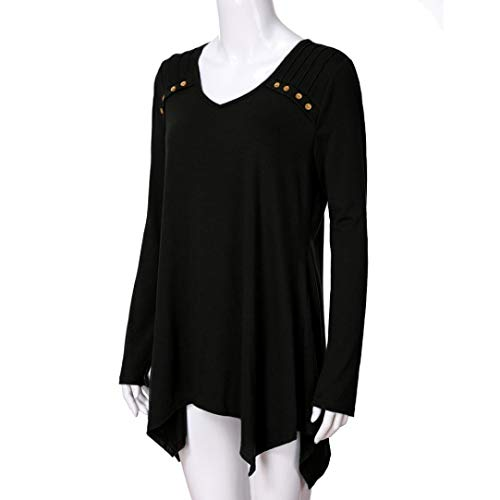 Dcontract Top Solid Femme DAYLIN Courtes Manches Noir Col V Chemisier qAgdECw